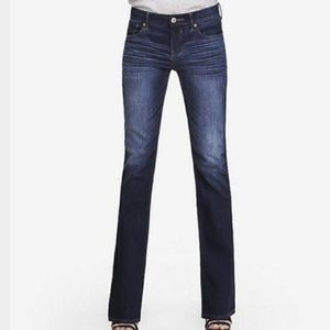 Express Stella boot cut regular fit low rise jeans